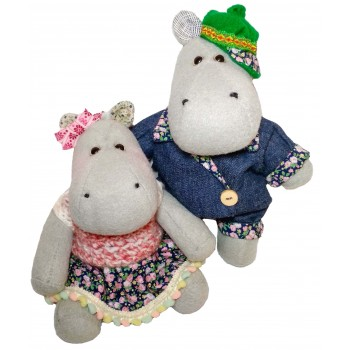 Hippos Barry & Sally